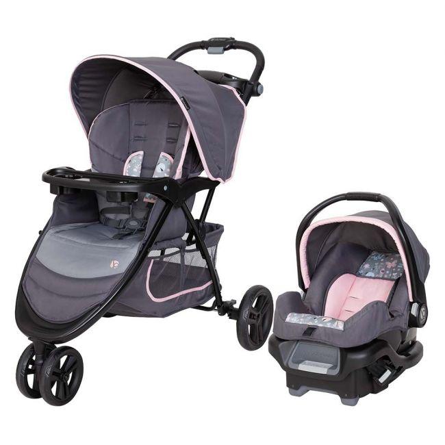 Babytrend - EZ Ride stroller Travel System - Flutterbye