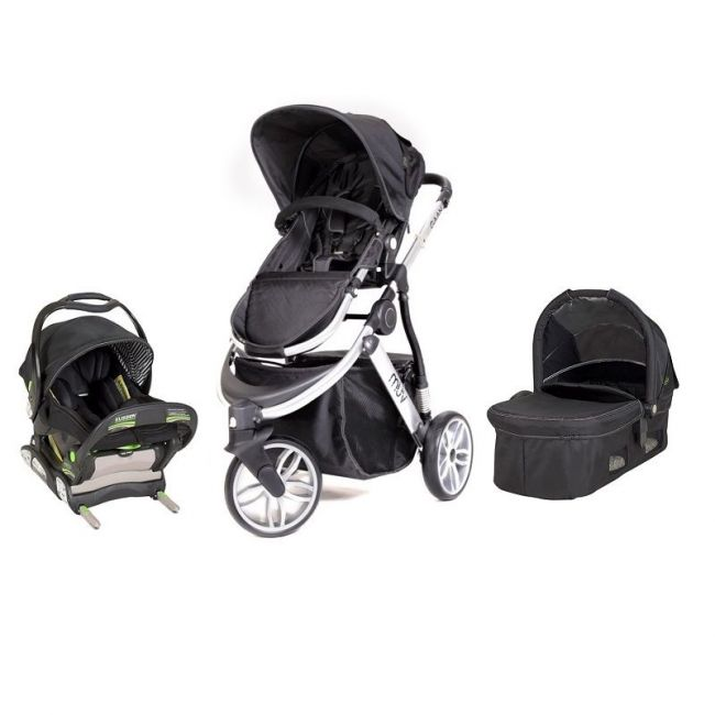 Babytrend - Gaan Stroller, Infant Car Seat + Carrycot, Silver
