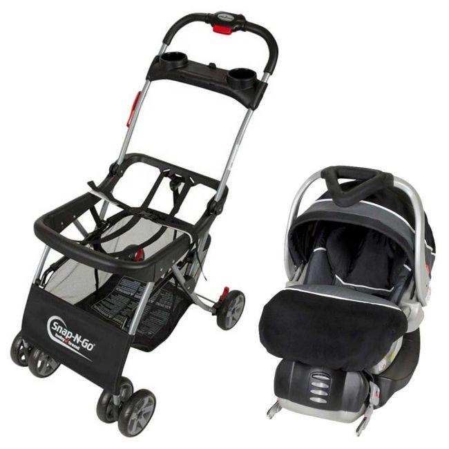 Babytrend - Snap-N-Go Carrier + Flex-Loc Car Seat - Onyx