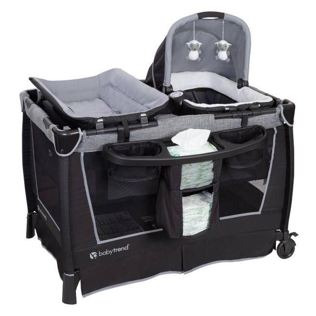 Baby Trend - Simply Smart Nursery Center - Whisper Grey