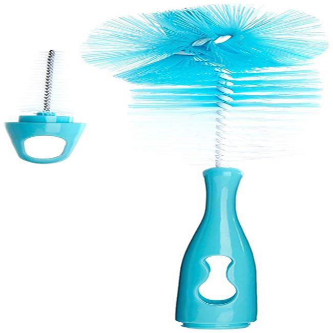 Badabulle - Baby Bottle and Teat Brush - Blue