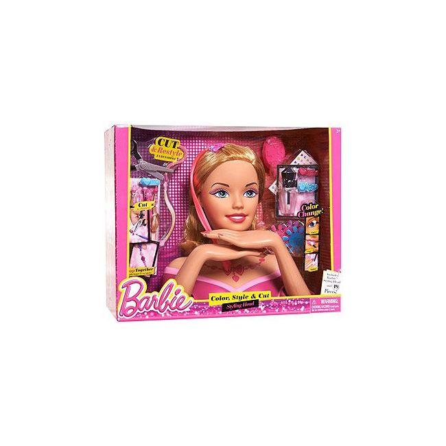 Barbie - Deluxe Styling Head Caucasian