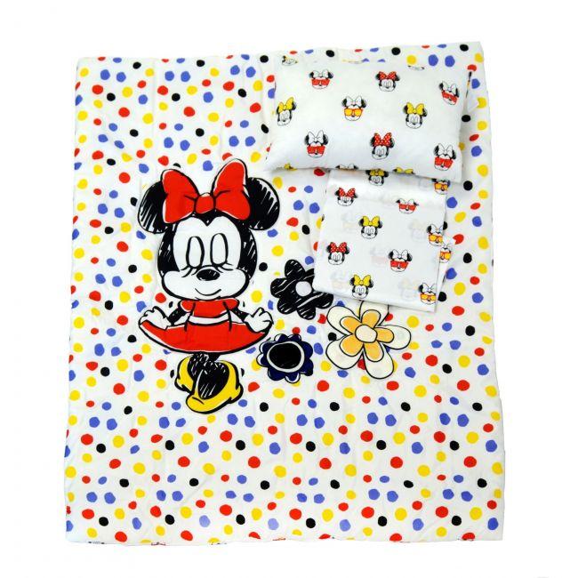 Minnie Mouse 3 Pcs Bedding Set