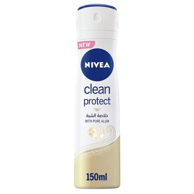 Nivea - Deo Spray Clean Protect 150Ml