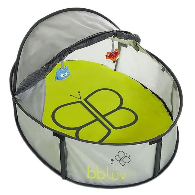 Bbluv 2-In-1 Travel Bed And Play Tent - Multicolor