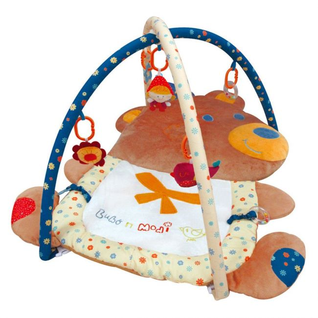 Qtot Bubo N Modi Bear Shape Soft Baby Play Mat