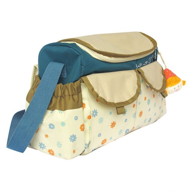 Qtot Cream Bubo N Modi Travel Diaper Bag