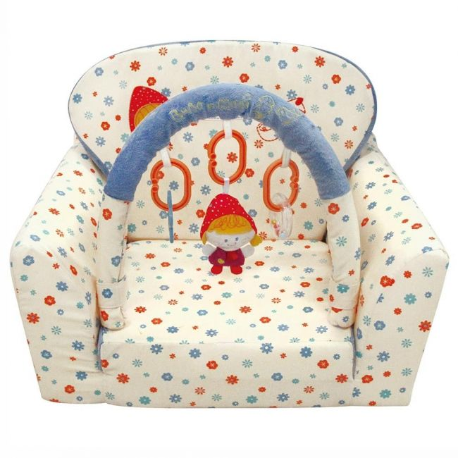 Qtot Bubo N Modi Baby Sofa Bed with Toy Bar