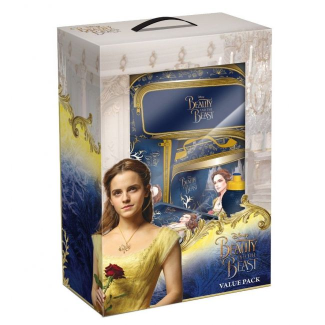 Disney Beauty and The Beast Value Pack Set Trolley 18 inch