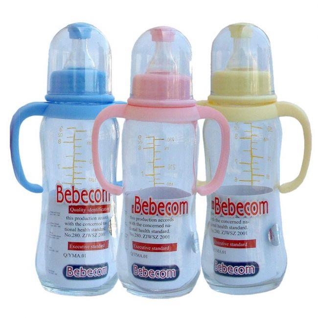Bebecom Glass Bottle 250ml