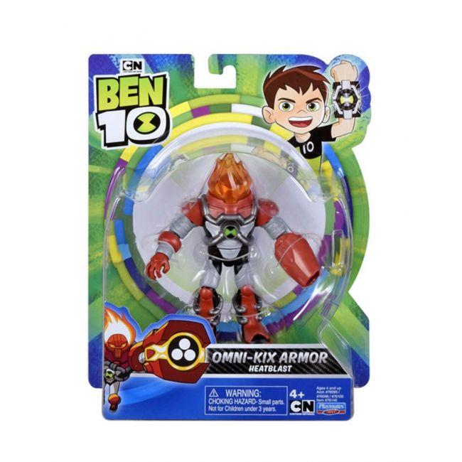 Ben 10 - Deluxe Figure_Omni-Kix Armor Heatblast