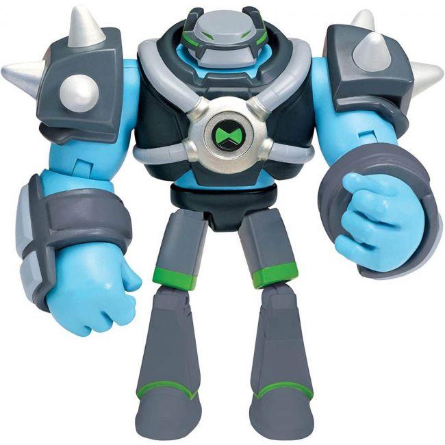 Ben 10 - Deluxe Figure_Omni-Kix Armor Shock Rock