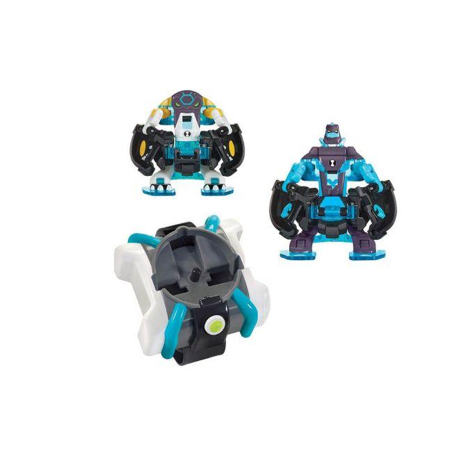 Ben 10 - Omni - Launch Battle Figures Heatblast + Oe Cannonbolt