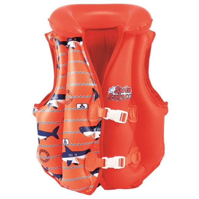 Best Way - Inflated Vest Deluxe Boys Girls Ast