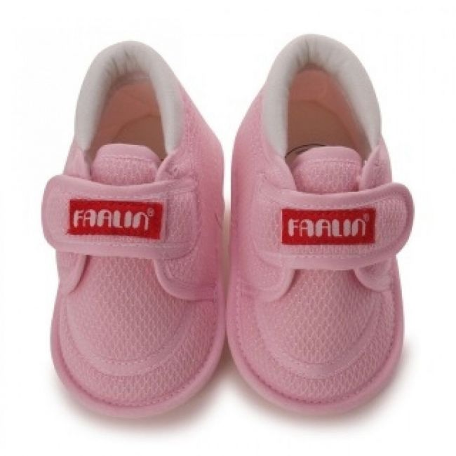 Farlin Baby Booties - Pink - 3-12 Months