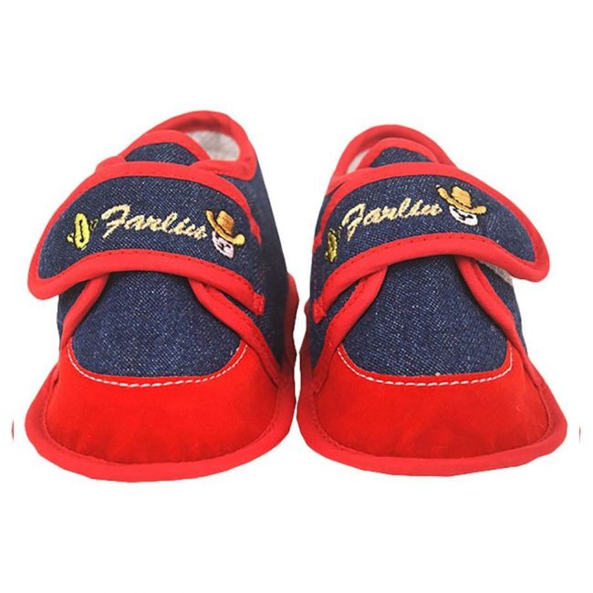 Farlin Baby Booties - Red