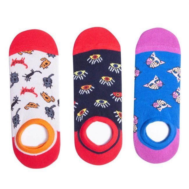 Biggdesign Women'S Designed Short Socks Set