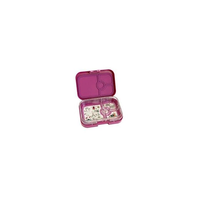 Yumbox Bijoux Purple 4 compartments Bento Lunch box