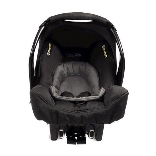 Graco Black SnugSafe Evo Rock Baby Car Seat