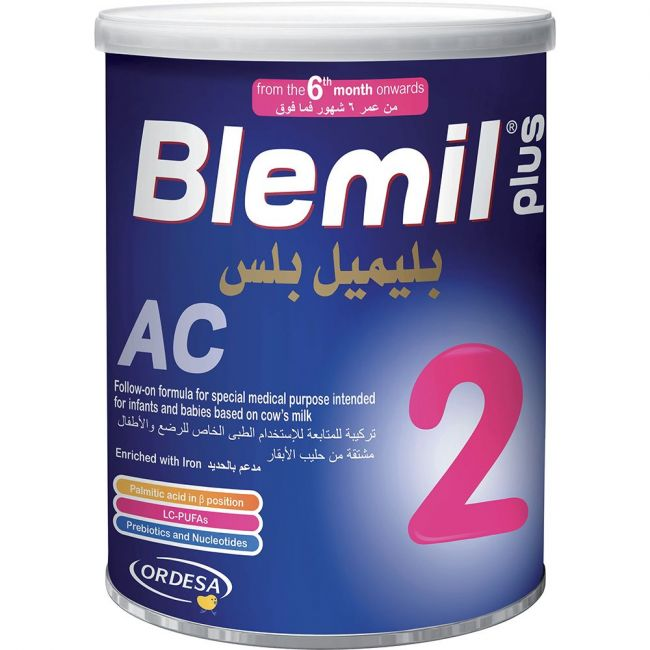 Blemil Plus Ac 2 400 gm Powder Anti Constipation (6-12 months)