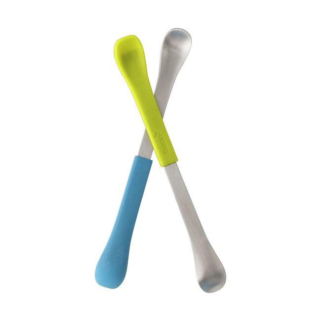 Boon Swap 2 in 1 Green & Blue Feeding Spoon