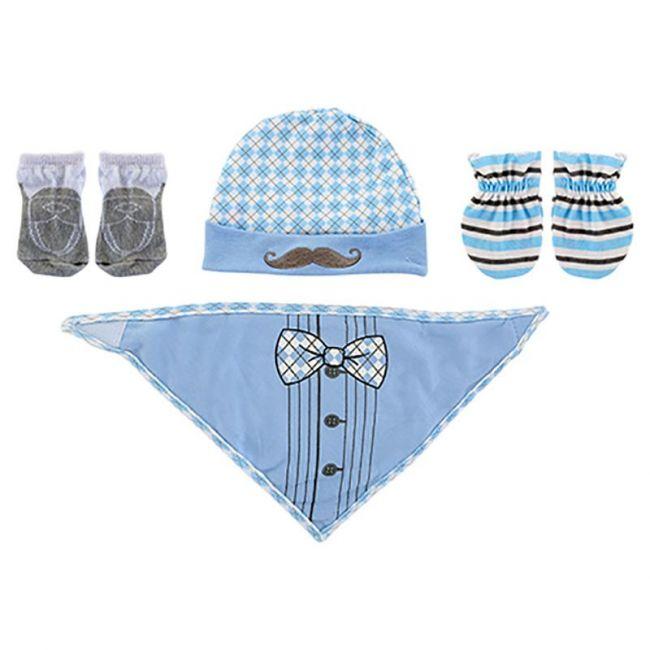 Baby Plus - Newborn Boy Essentials 4pc Gift Set - Blue