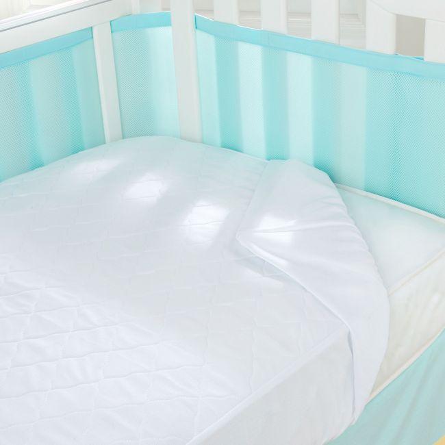 Breathable Baby Mattress Pad - 140cm X 70cm