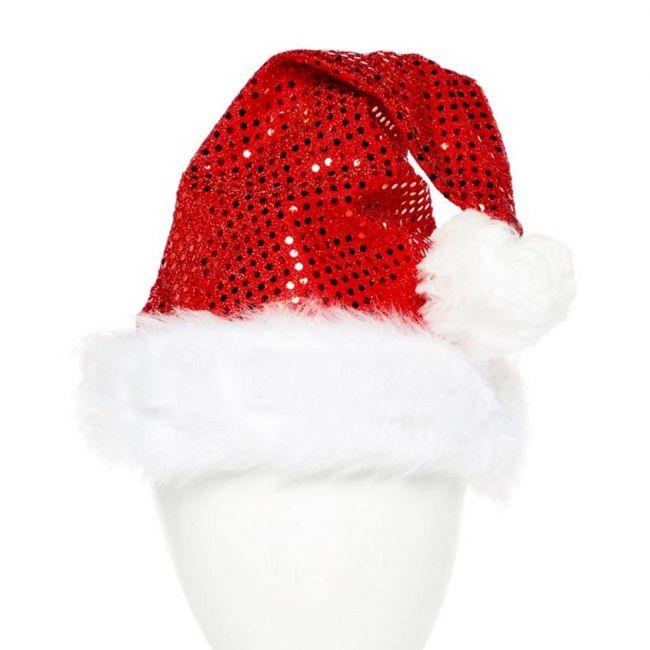 Bristol Novelty - Sequin Santa Hat