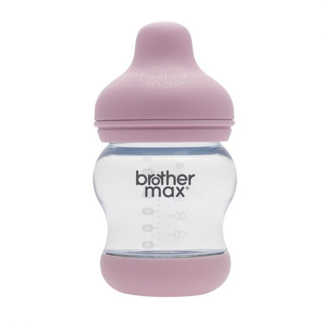 Brother Max - PP Anti-Colic S Teat Feeding Bottle 160ml - Pink