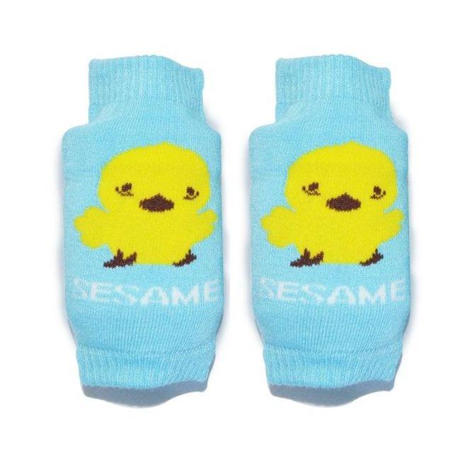 B-Safe Knee Protectors - Sesame Blue