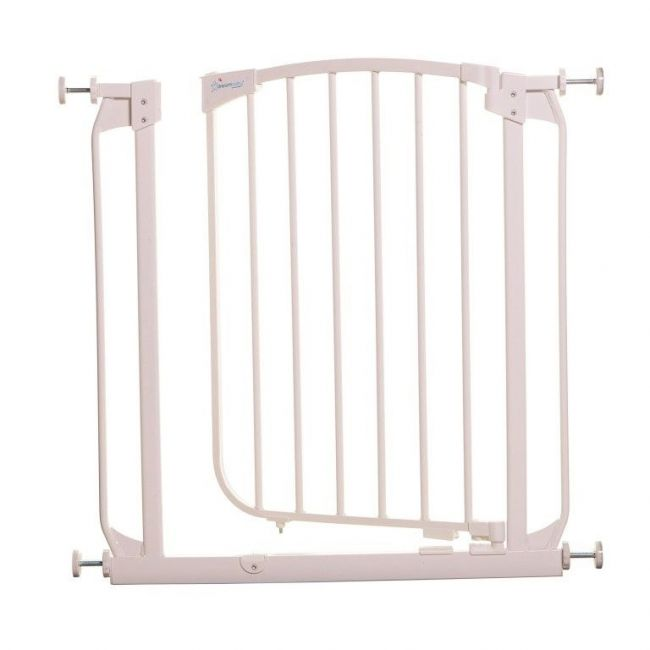 Dreambaby White Chelsea Swing Closed Safety Gate