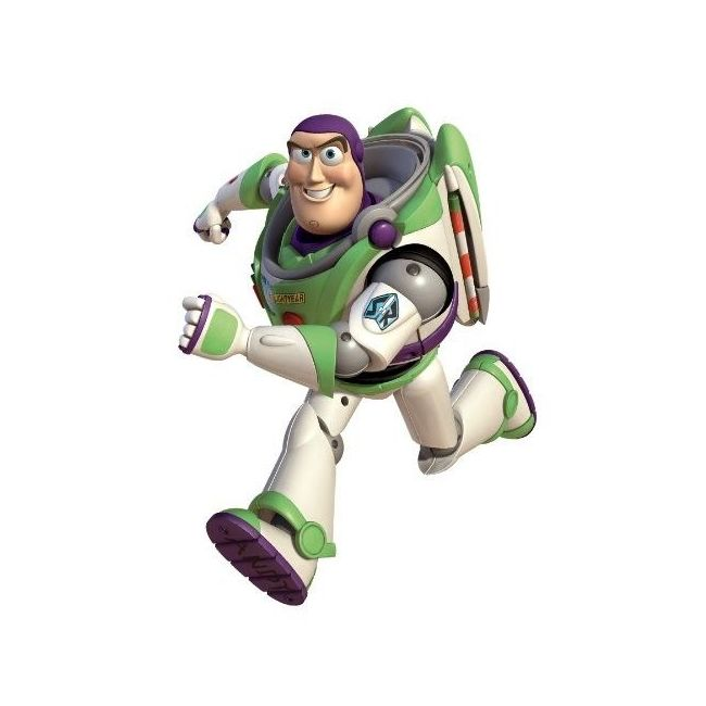 RoomMates Toy Story Buzz Peel & Stick Giant Wall Decals Glow in the dark
