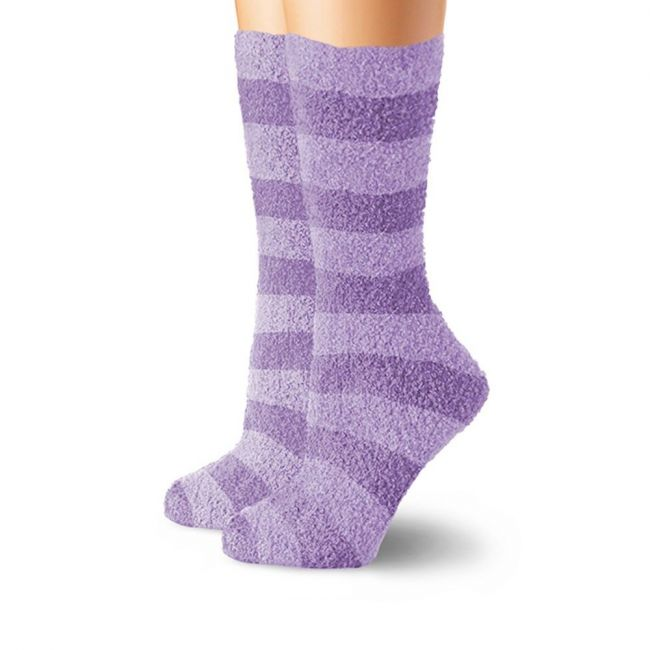 Cabeau Fluffy Socks Purple