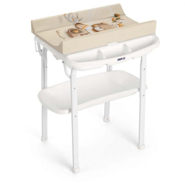 Cam Aqua Bathroom Changing Table - Beige