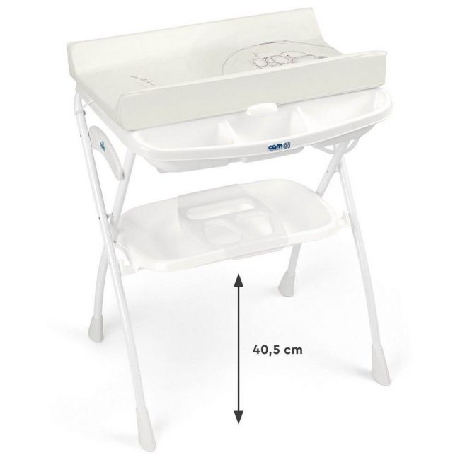 Cam - Bagneto Volare Changing Table - White