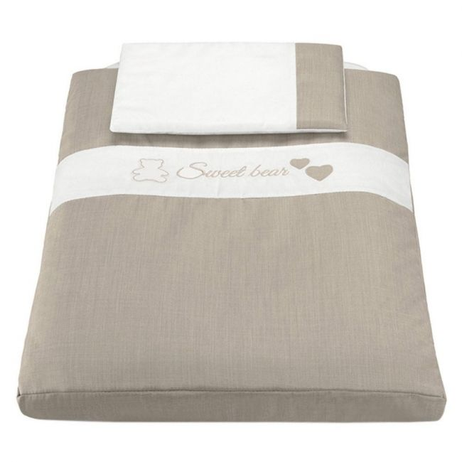 Cam Beige Textile Cullami Kid's Bed Sheet Kit