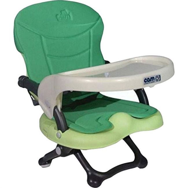 Cam Smarty feeding Booster Chair - Green