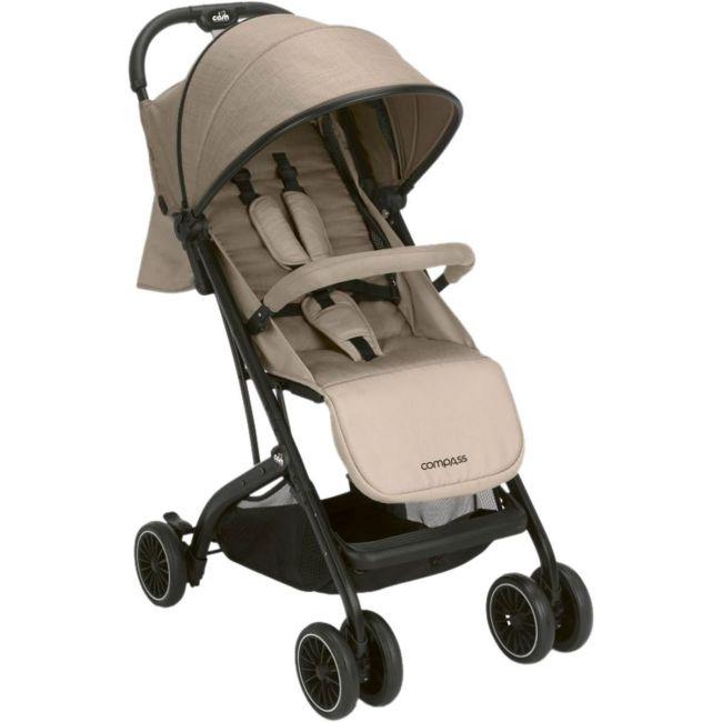 Cam Compass Baby Stroller, Brown / Black