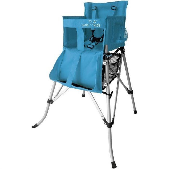 Camel Kidz - Travel High Chair - Aqua Blue