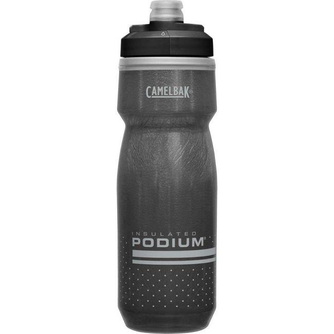 Camelbak Podium Chill 21 oz Bike Water Bottle - Black