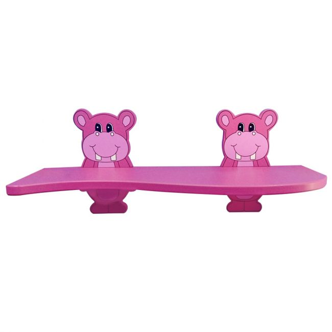 Cameltough - Kid Shelf With 2 Animal Brackets - Pink