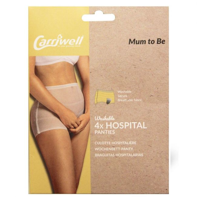 Carriwell - Hospital/Labor Panties - White (Pack of 4)