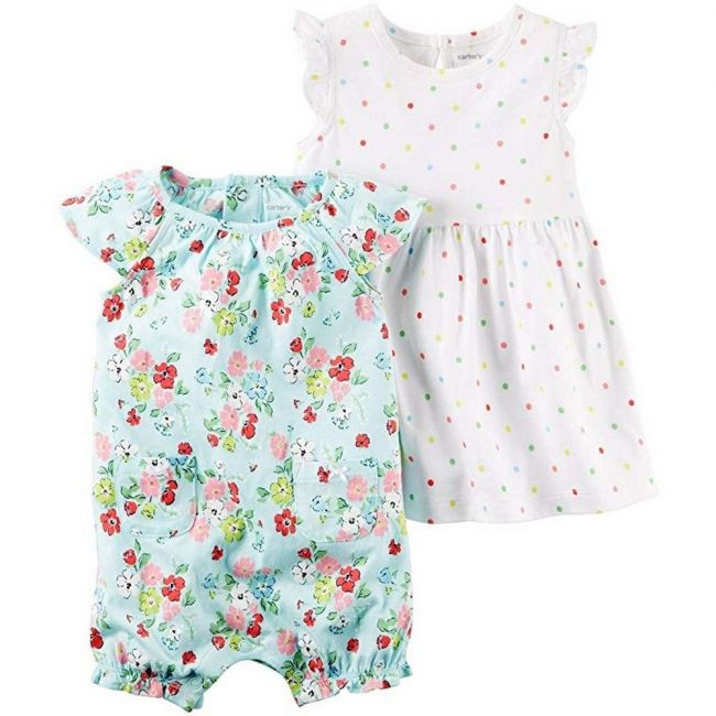 Carters Baby Girls 2 Pc 121h338