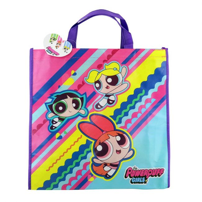 Cartoon network - Power Puff Girls Grocery Eco Friendly Bags Reusable Foldable Shopping Bag