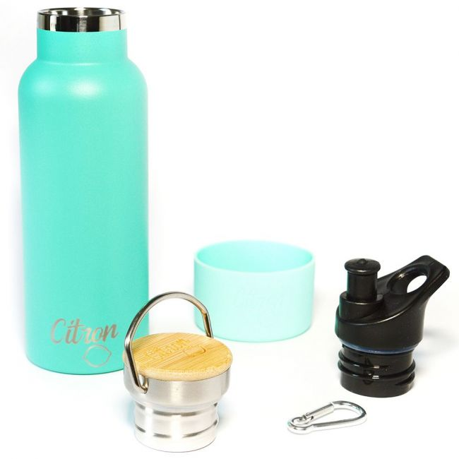 Citron - Water Bottle Green-Double Insulated Stainless Steel - 500ml