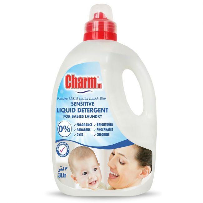 Charmm - Sensitive Laundry Liquid for Babies Laundry 3L