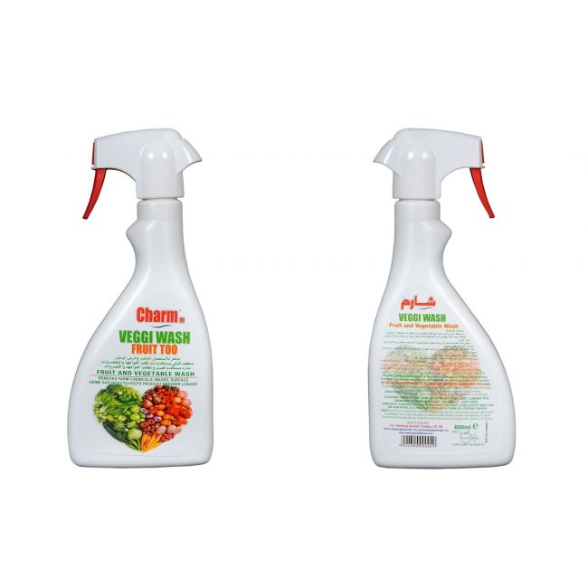 Charmm Vegetable and Fruit Wash Spray 600ml