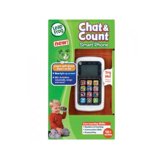Leap Frog Green Chat & Count Phone
