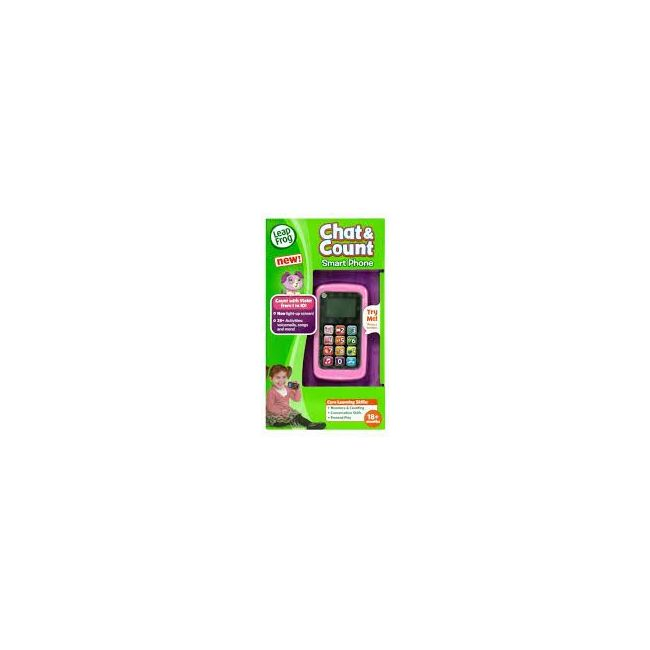 Leap Frog Violet Chat & Count Phone