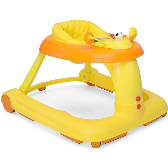 Chicco Orange 1-2-3 Baby Walker
